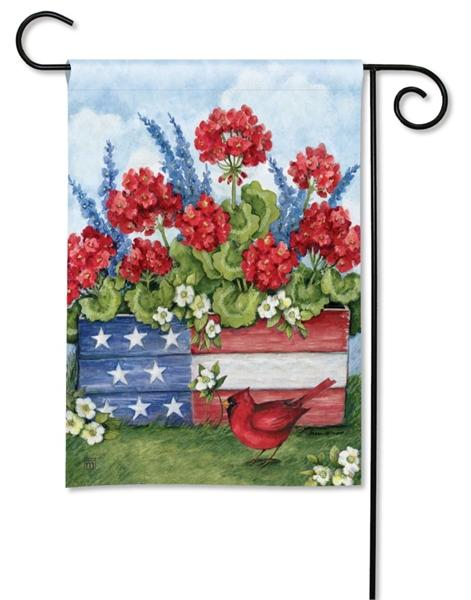 Patriotic Planter Box Garden Flag - I AmEricas Flags