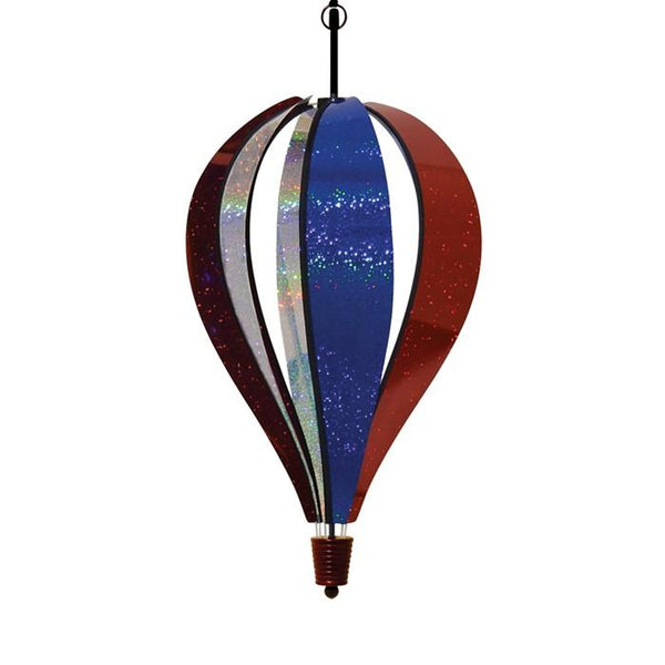 Patriotic Sparkler Hot Air Balloon Spinner