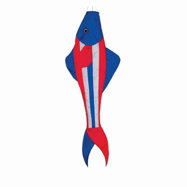 Patriotic Fish Windsock