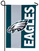 Philadelphia Eagles Embellished Applique Garden Flag