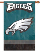Philadelphia Eagles Applique House Flag