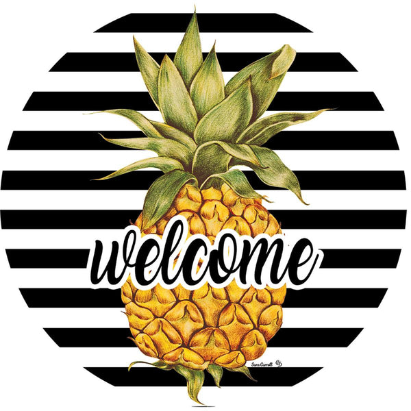 Pineapple Welcome Accent Magnet - I AmEricas Flags