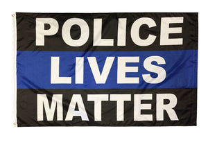 Police Lives Matter Flag 3x5 Double Sided