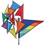 Rainbow Windmill Wind Spinner