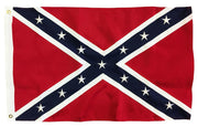 Rebel Confederate Battle Flag 3x5 2-Ply Polyester Embroidered Stars