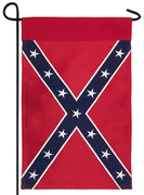 Rebel Confederate Garden Flag Embroidered 2-Ply Polyester