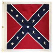 "Square Confederate Battle Flag 38""x38"" 2-Ply Polyester"