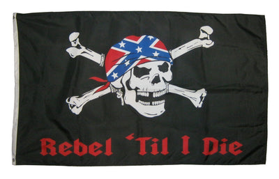 Rebel 'Til I Die 3x5 Flag