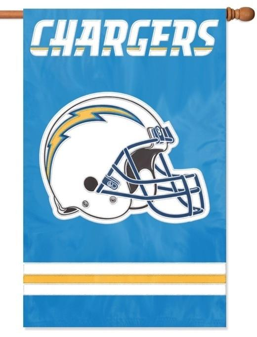Los Angeles Chargers Applique House Flag - Sports Flags/NFL National Football League/Los Angeles Chargers - I AmEricas Flags