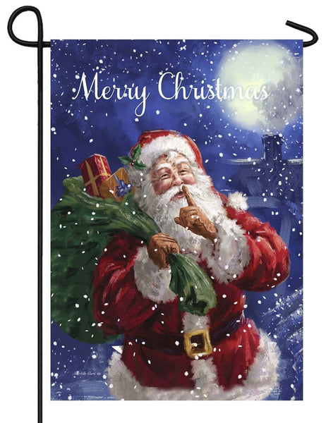 Santa Delivery Garden Flag - All Decorative Flags/Holidays/Christmas Flags - I AmEricas Flags
