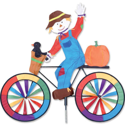 Scarecrow Large Bicycle Wind Spinner