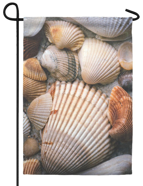 Sea Shells Garden Flag