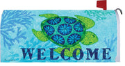 Welcome Sea Turtle Mailbox Cover