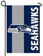 Seattle Seahawks Embellished Applique Garden Flag