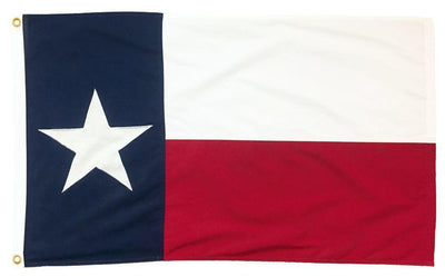 Sewn Cotton Texas Flags