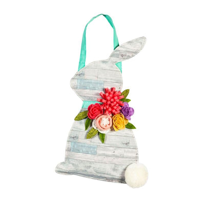 Shiplap Bunny Decorative Door Hanger