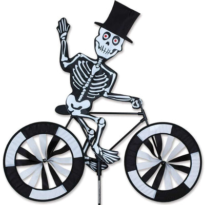 Skeleton Large Bicycle Wind Spinner