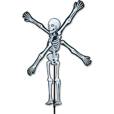 Skeleton WhirliGig Wind Spinner