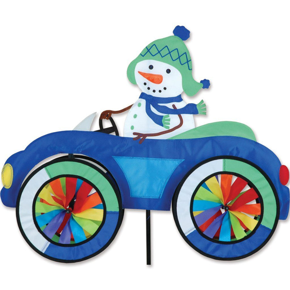 Snowman Car Wind Spinner