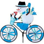 Snowman Large Bicycle Wind Spinner