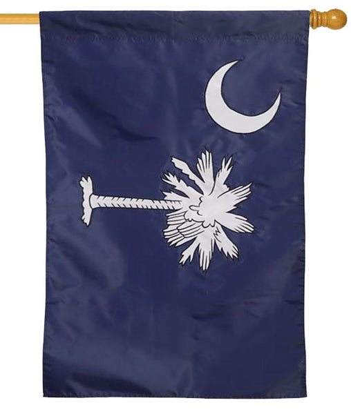 South Carolina Applique House Flag