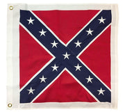 "Square Confederate Battle Flag 32""x32"" 2-Ply Polyester"
