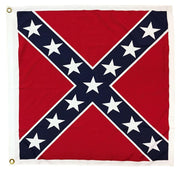 "Square Confederate Battle Flag 38""x38"" Printed Polyester"
