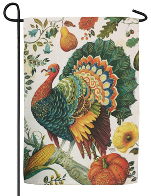 Suzani Turkey Sublimated Garden Flag