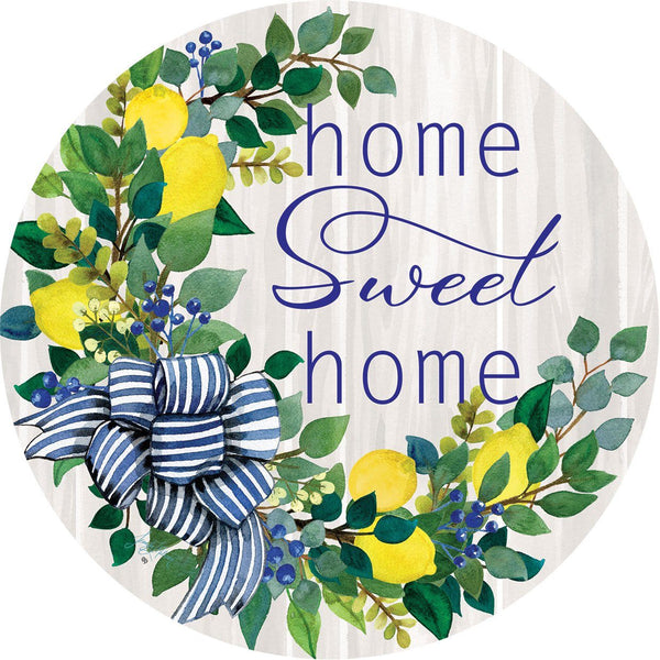 Sweet Home Lemon Wreath Accent Magnet - I AmEricas Flags