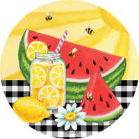 Sweet Summer Watermelon Accent Magnet - I AmEricas Flags