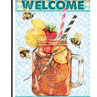 Sweet Tea and Bees Garden Flag