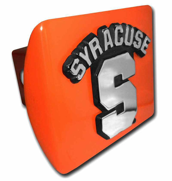Syracuse University Orange Hitch Cover