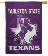 Tarleton State Texans 2 Sided House Flag