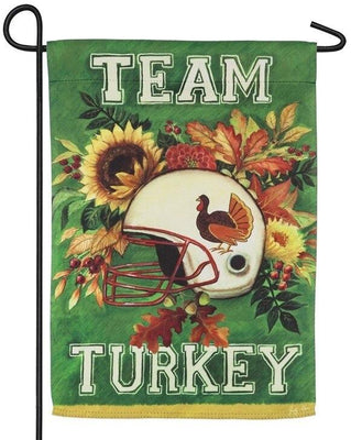Team Turkey Suede Reflections Garden Flag