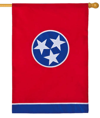 Tennessee Applique House Flag