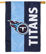 Tennessee Titans Embellished Applique House Flag