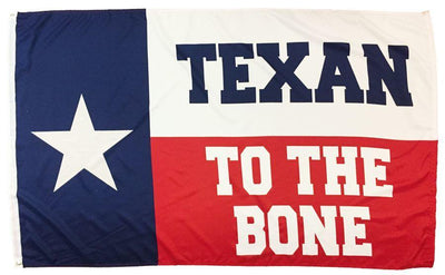 Texan to the Bone 3x5 Flag