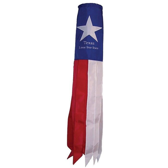 Texas Embroidered Windsock