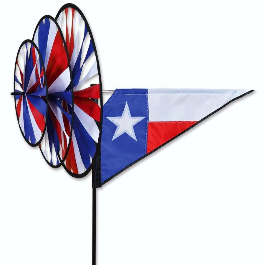 Texas Triple Wind Spinner