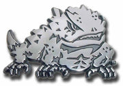 Texas Christian University Horned Frog Chrome Car Emblem