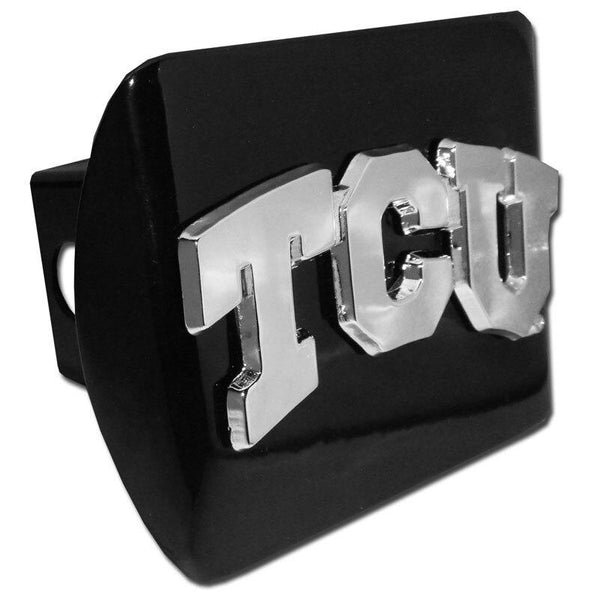 Texas Christian University TCU Black Hitch Cover