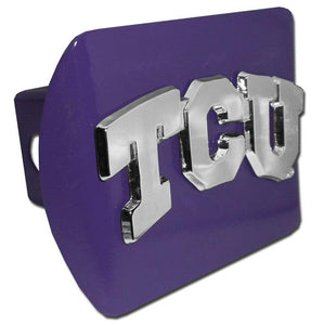 Texas Christian University TCU Purple Hitch Cover