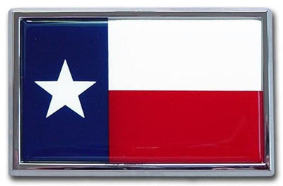 Texas Flag Car Emblem SUV Size