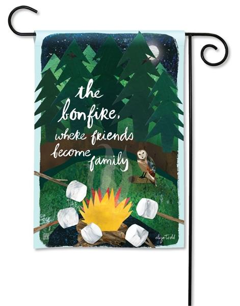 The Bonfire Garden Flag