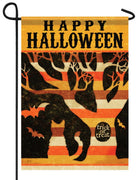 Trick or Treat Tree Halloween Garden Flag