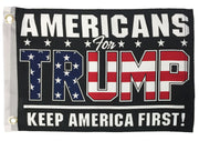 Trump Americans For Boat Flag
