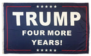 Trump Four More Years 3x5 Flag Double Sided