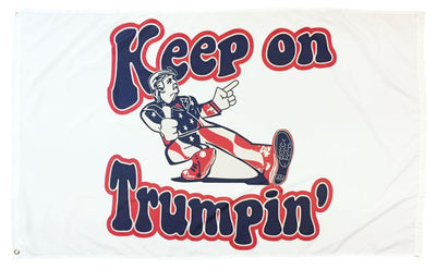 Trump Keep on Trumpin' 3x5 Flag
