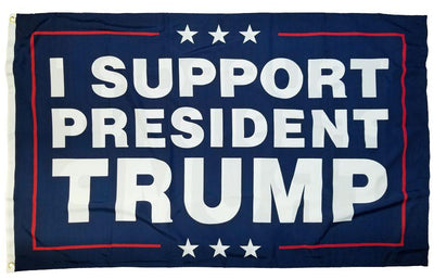 Trump Support 3x5 Flag Double Sided