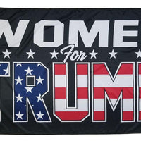 Trump Women For 3x5 Flag